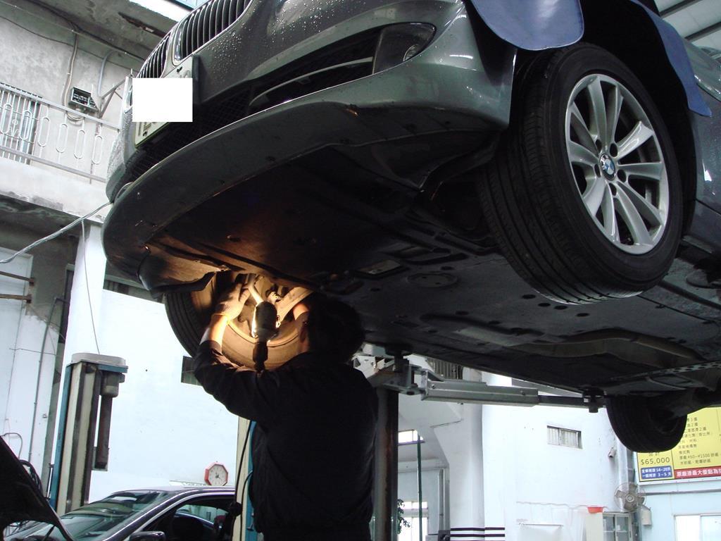 桃園玉成汽車,底盤系統維修情況