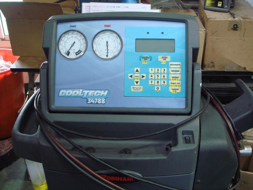 桃園玉成汽車,多功能冷氣充填、回收、測量機
