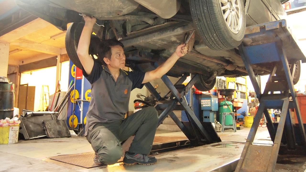 基隆新北市瑞芳區推薦維修保養修車汽車廠聖記汽車底盤