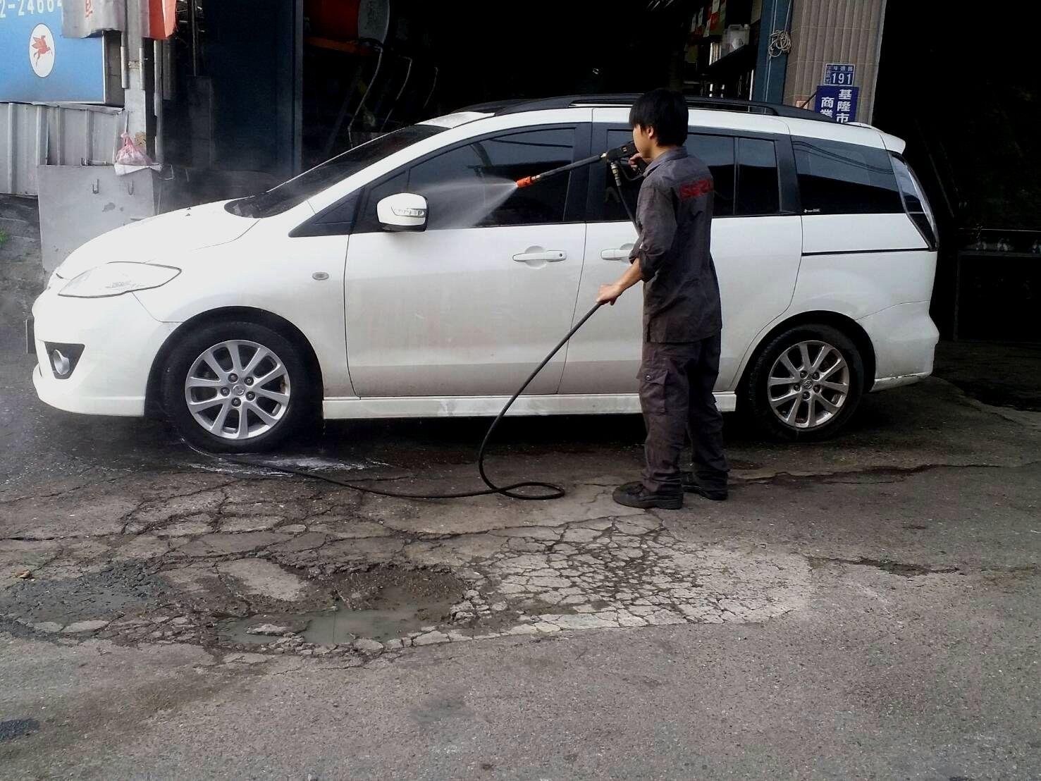 基隆市信義區推薦汽車維修保養修車汽車廠德全汽車洗車服務