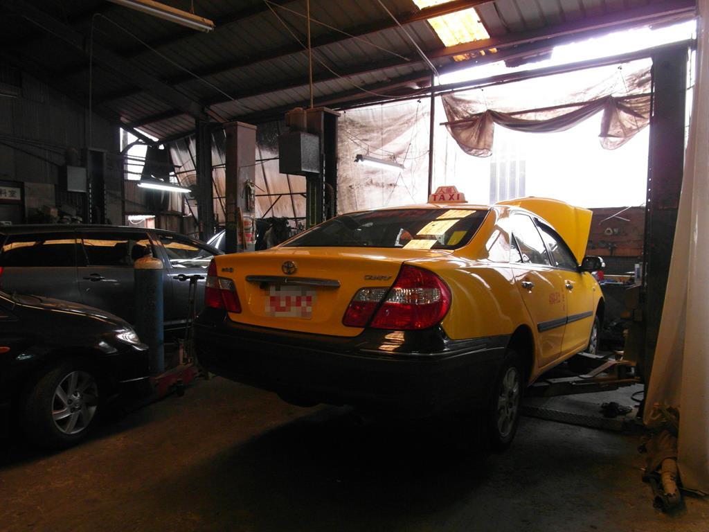 新北市樹林區推薦汽車維修保養修車鈑金板金烤漆廠國同汽車維修保養區