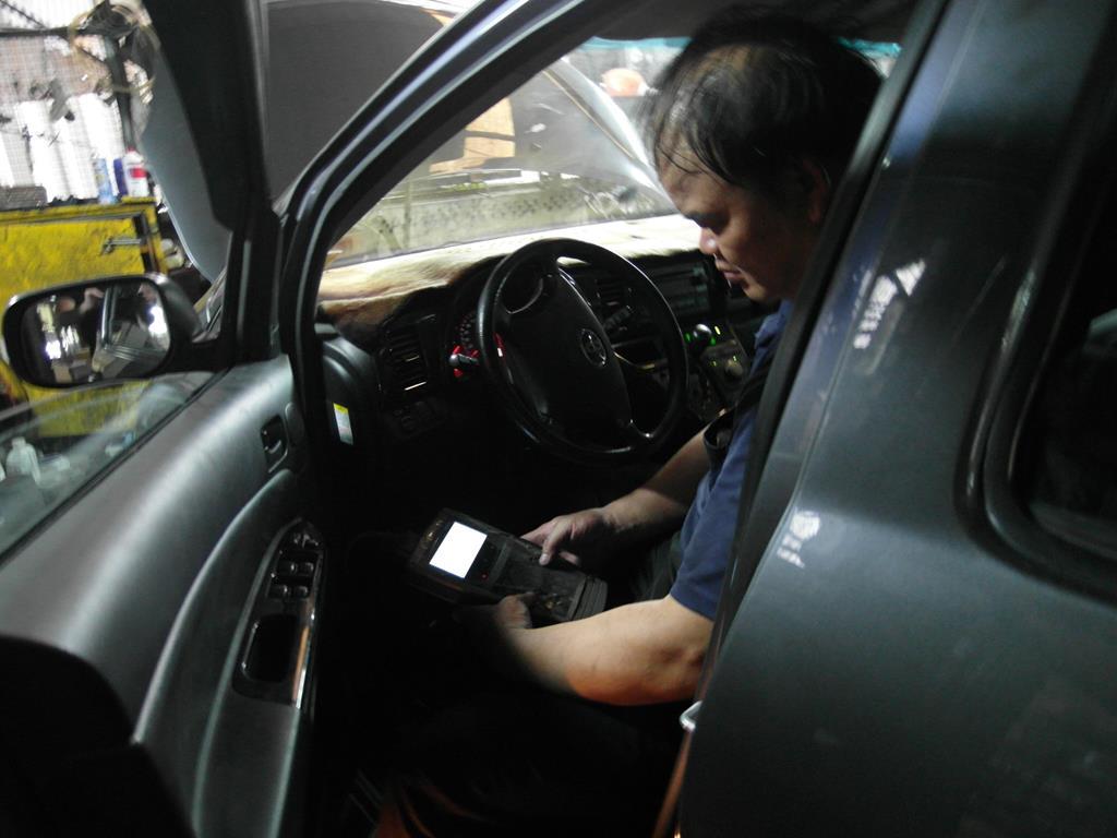新北市樹林區推薦汽車維修保養修車鈑金板金烤漆廠國同汽車電腦輔助確認