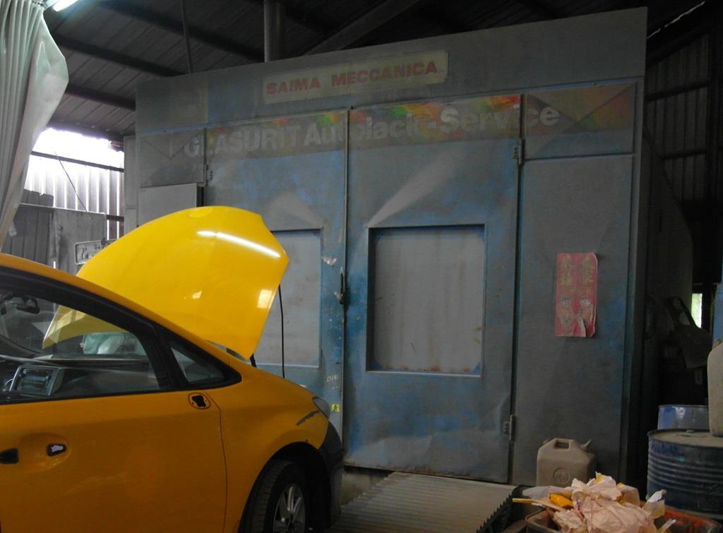 新北市樹林區推薦汽車維修保養修車鈑金板金烤漆廠國同汽車烤漆爐