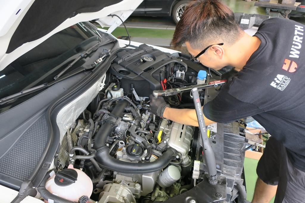 嘉義市西區推薦維修廠安修汽車火星塞安裝