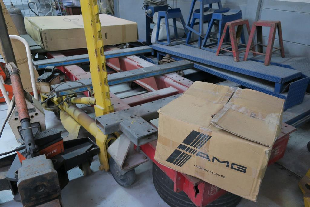 嘉義市東區推薦維修廠川華汽車車體調整手術台設備