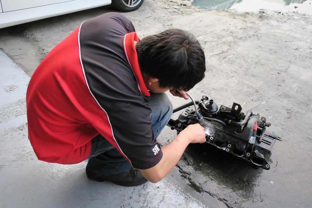 台南市永康區推薦維修廠松鎰汽車引擎氣們清洗