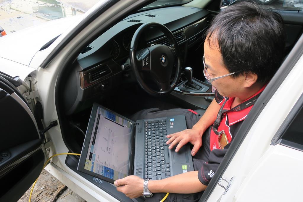 台南市永康區推薦維修廠松鎰汽車全車系統診斷
