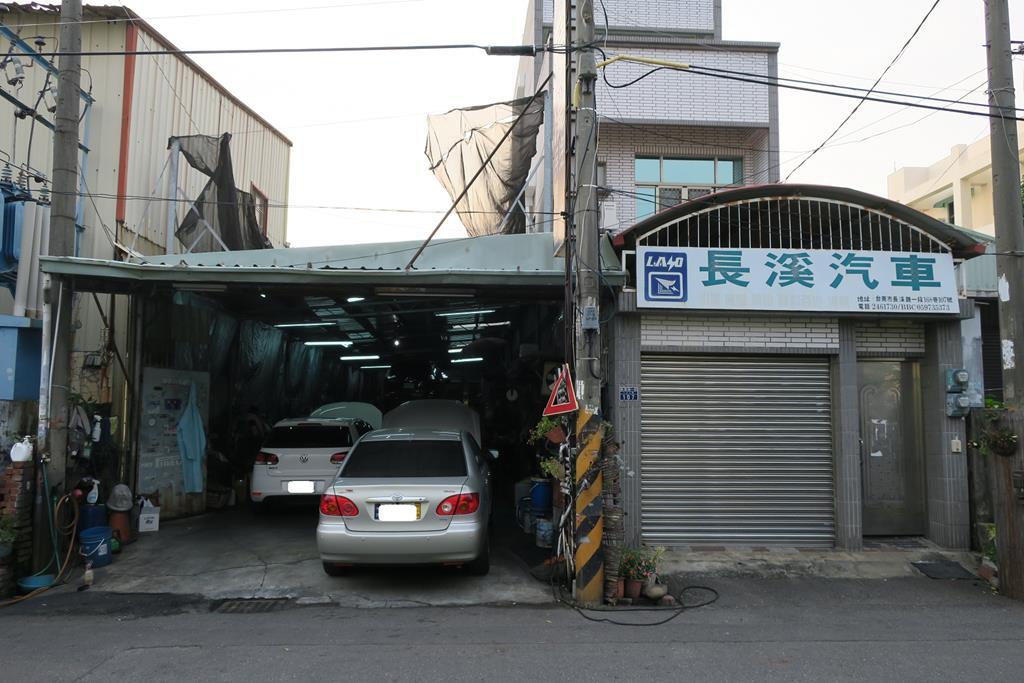 台南市安南區推薦維修廠長溪汽車保養場店門口