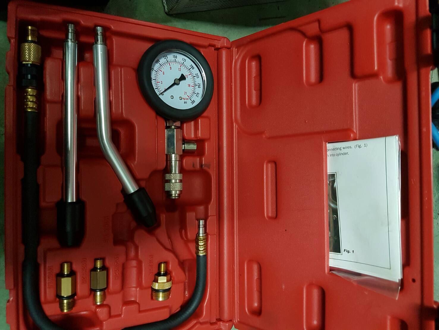 台南市安南區推薦維修廠長溪汽車保養場汽缸壓力檢測設備