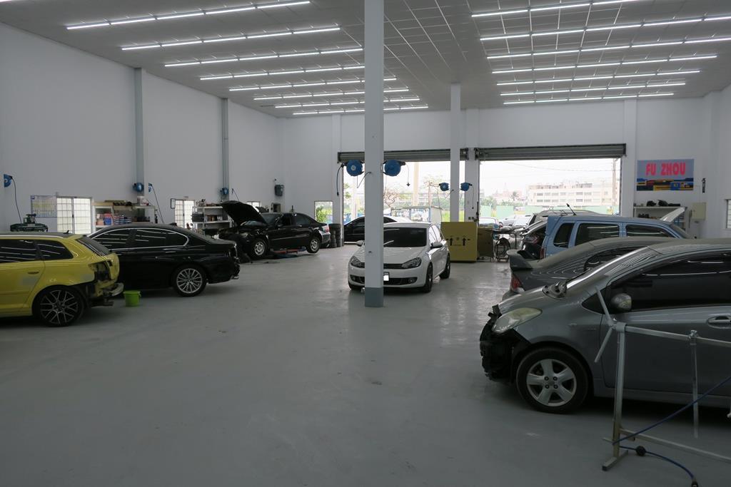 台南市安南區推薦維修廠富洲汽車烤爐