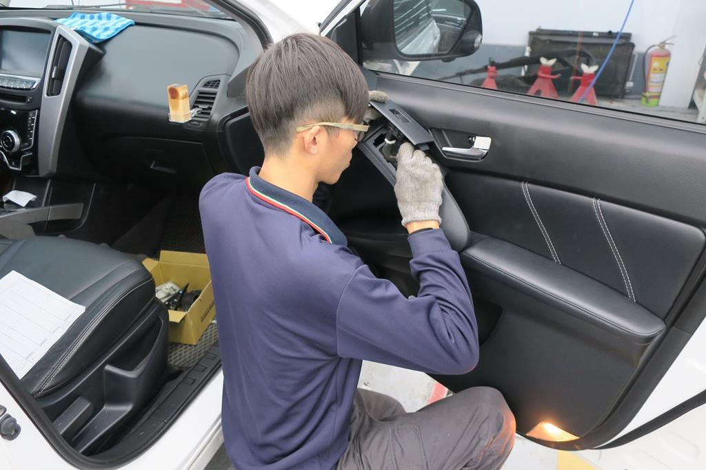 台南市安南區推薦維修廠富洲汽車線路查修