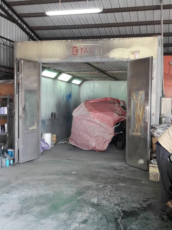 台南市仁德區推薦維修廠育成保修烤漆爐