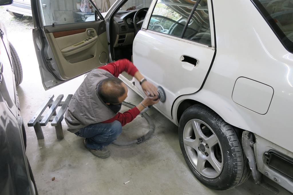 新北市新店區推薦維修廠麗特汽車打磨