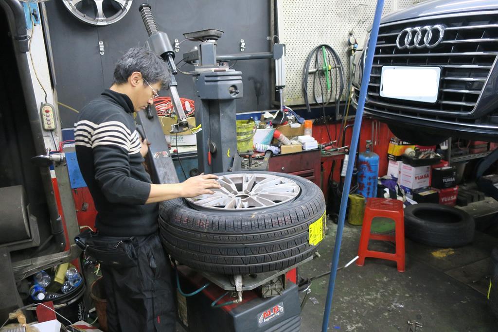 利元汽車輪胎行台北市大安區安裝
