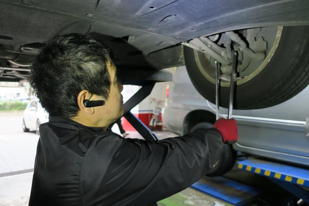 利元汽車輪胎行台北市大安區底盤