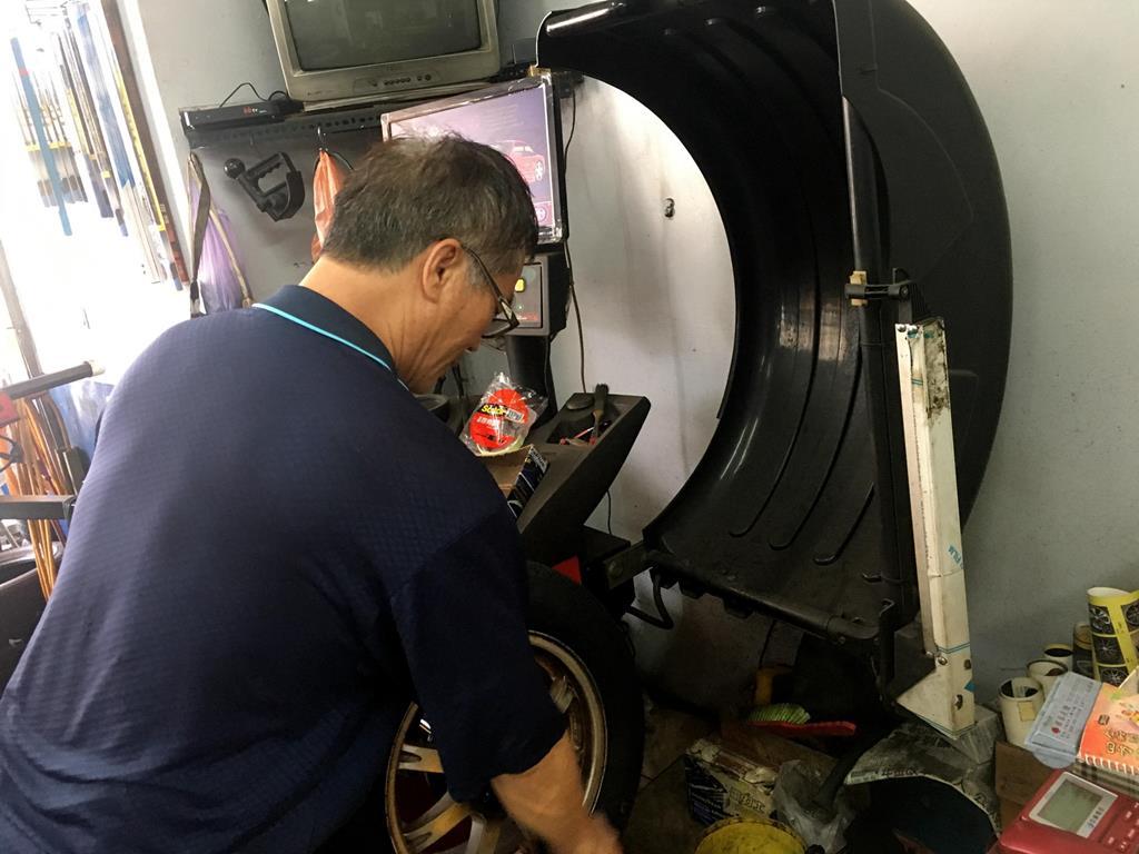 高雄市三民區推薦維修廠固特異-宏易輪胎行平衡調整