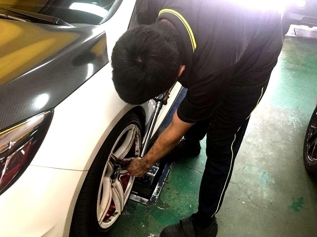 台中市潭子區推薦修車廠固特異-新鴻輪汽車專業保修品質保證