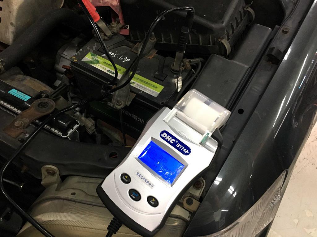 新竹市東區推薦修車廠豐成汽車服務中心檢測電瓶狀況