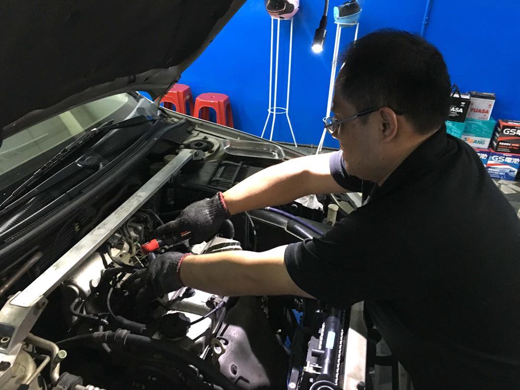 新北市板橋區推薦修車廠駿騰汽車修護維修引擎