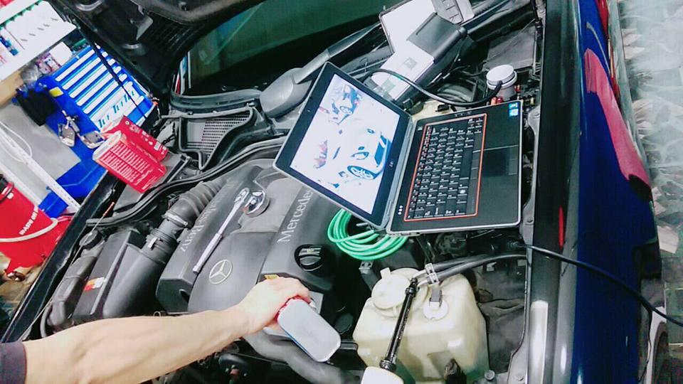 新北市板橋區推薦修車廠駿騰汽車修護檢測儀器