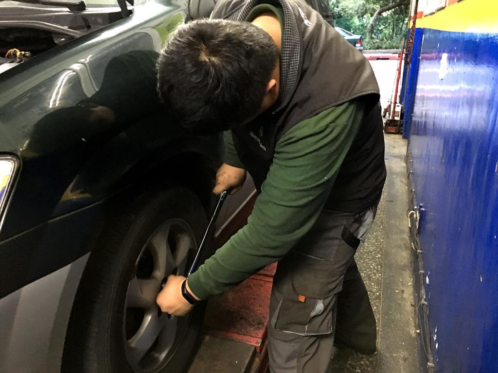 新北市淡水區推薦日系保養廠東榮汽車維修過程