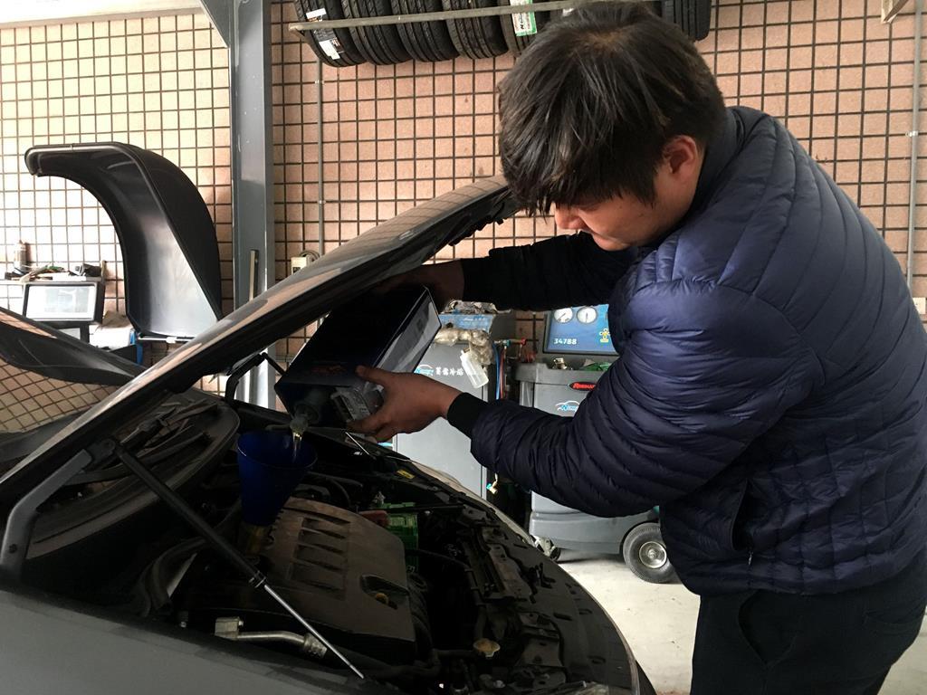 桃園市龍潭區推薦修車廠鴻順鑫車業引擎維修