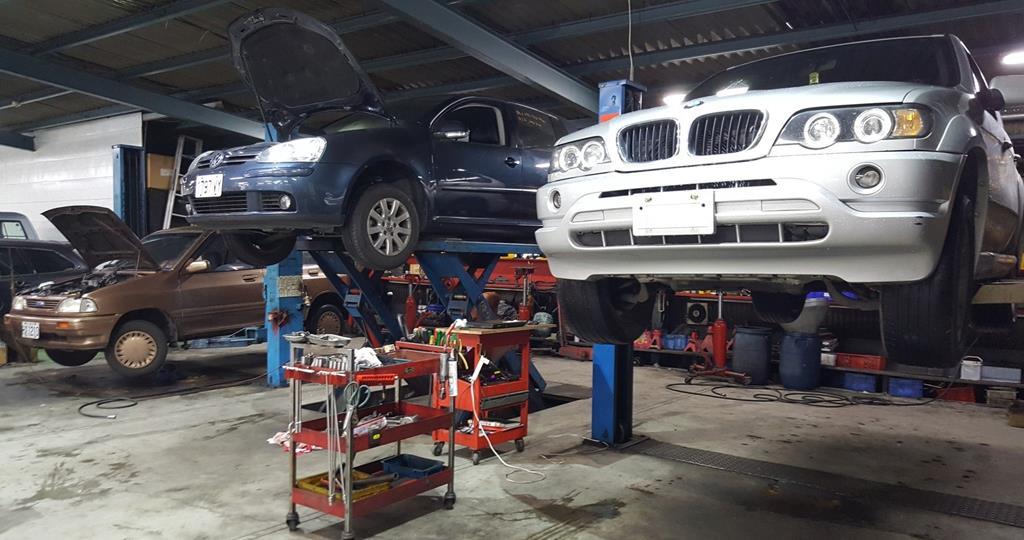 新北市三重區推薦維修廠冠傑汽車自動變速箱車廠環境