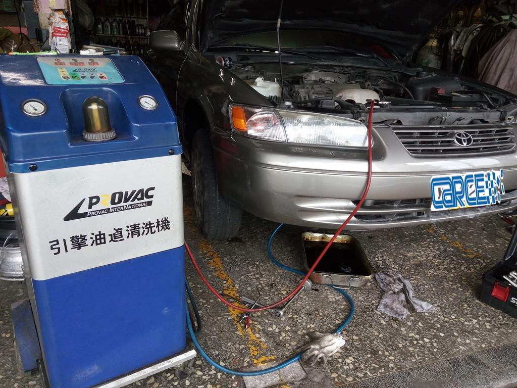 新北市淡水區推薦維修廠慶鴻汽車輪胎保養廠引擎由道清洗