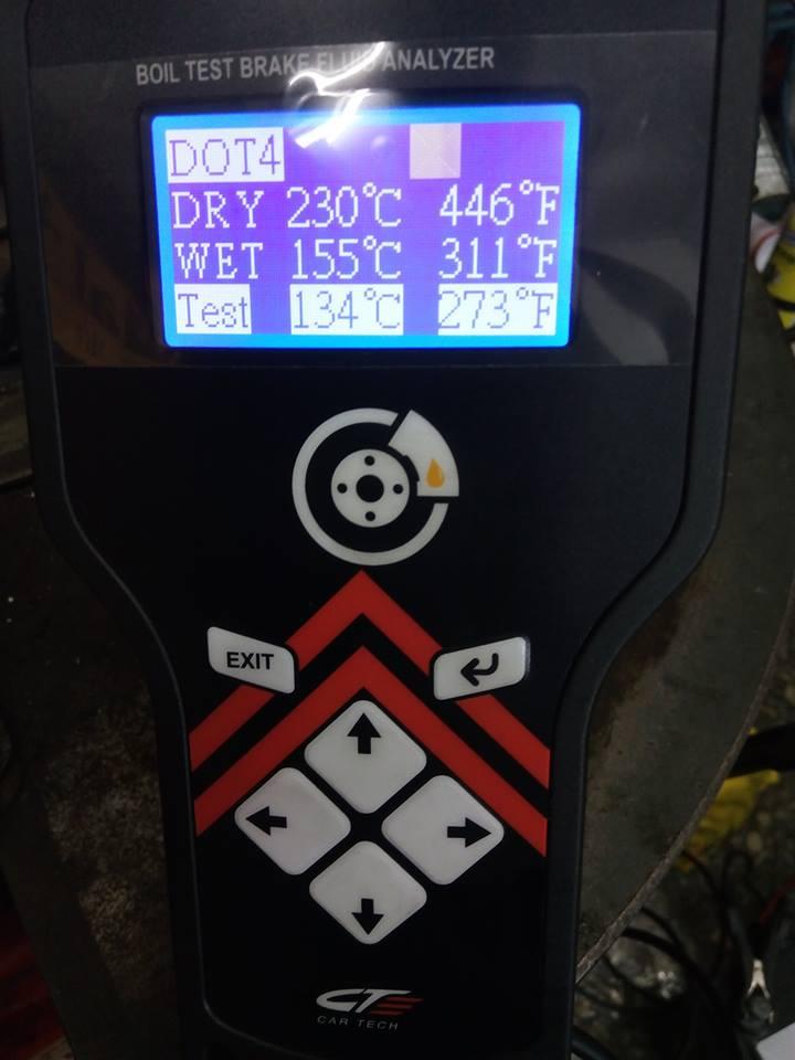 新北市淡水區推薦維修廠慶鴻汽車輪胎保養廠煞車油檢測