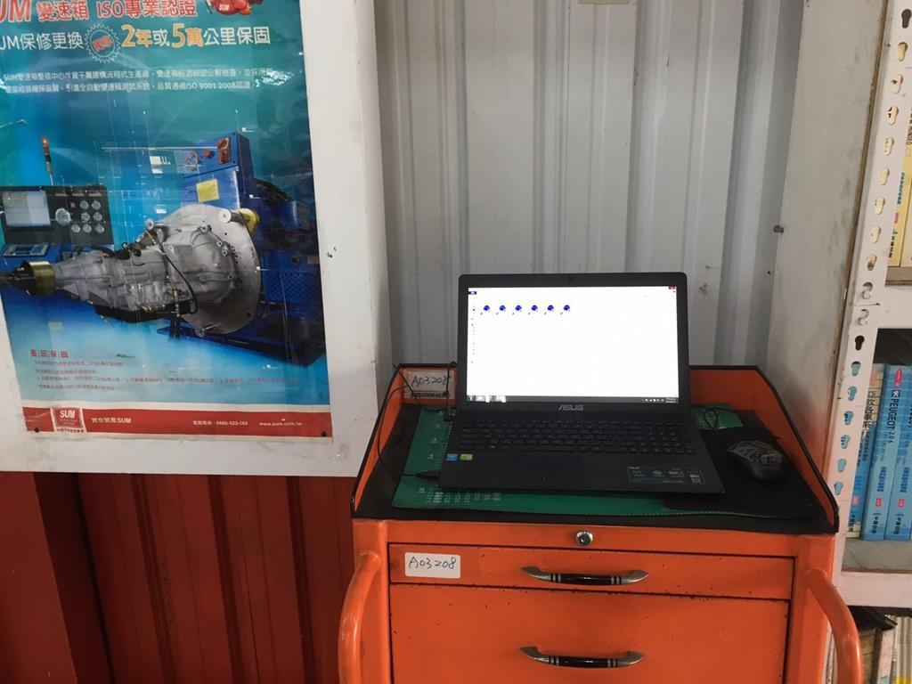 桃園市中壢區推薦維修廠鴻城汽車保修維修電腦設備