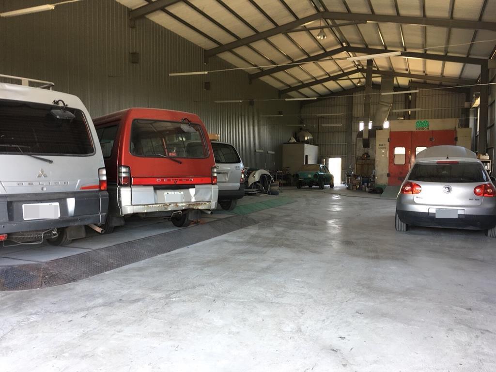台南市安南區推薦修車廠廣威車業有限公司車廠內部環境