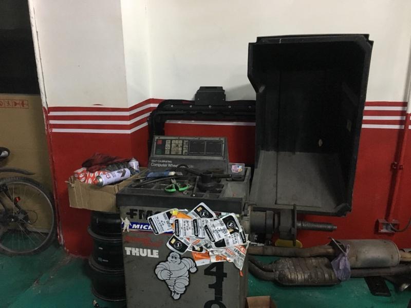 新北市新店區推薦維修廠信昌汽車工作室機器設備