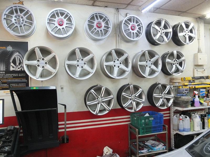 全泓汽車維修廠輪胎行新北市三峽區輪框