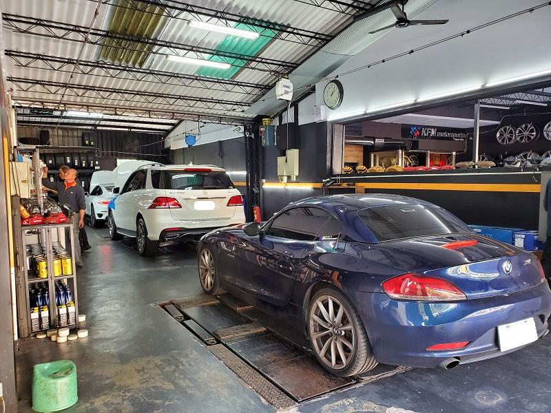 國豐動力-士林廠/汽車養護服務中心 車輛等待修護