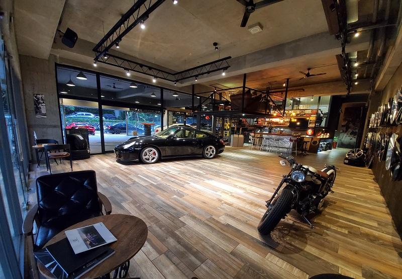 【國豐動力-內湖廠】美式風格濃郁的會客室,十分吸睛