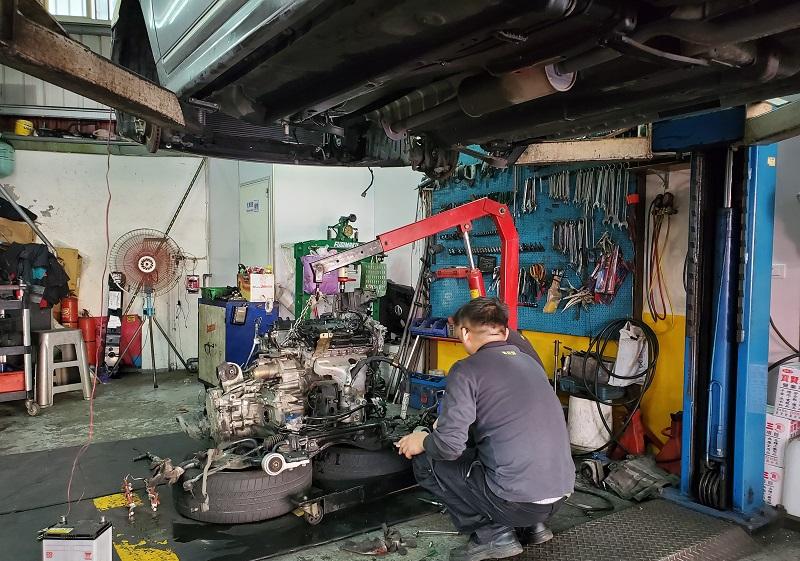 普利擎汽車專業保養中心新竹北大店 車輛引擎、變速箱大修情況